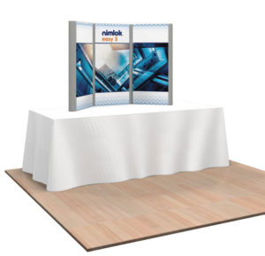 3 Panel Table Top Trade Show Exhibit
